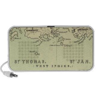 St Thomas, St Jan, St Crook Portable Speakers