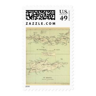 St Thomas, St Jan, St Crook Postage Stamp