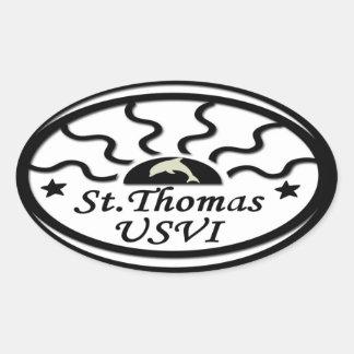 St Thomas Sticker