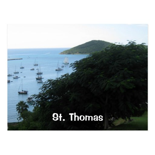 St Thomas Tarjeta Postal