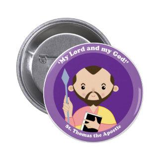 St. Thomas the Apostle Pinback Button