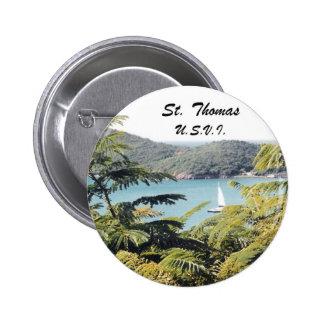 St. Thomas, U.S.V.I. 2 Inch Round Button