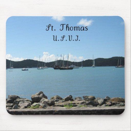 St. Thomas, U.S.V.I Mouse Pad