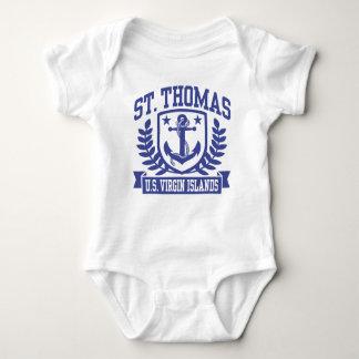 St. Thomas U.S. Virgin Islands Baby Bodysuit