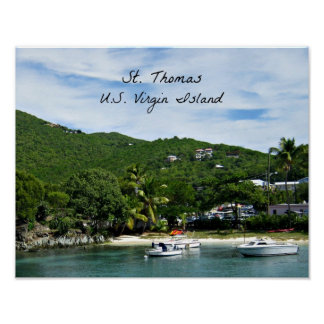 St. Thomas, U.S. Virgin Islands Poster