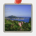 St. Thomas, US Virgin Islands. Charlotte Metal Ornament