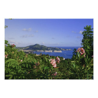 St Thomas US Virgin Islands Charlotte Poster