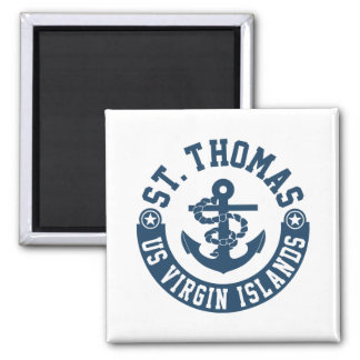 St. Thomas US. Virgin Islands Magnet