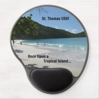 St Thomas USVI Gel Mouse Pads