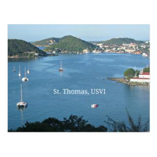 St Thomas USVI Postcard