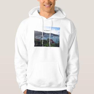 St. Thomas V.I. Harbor Hooded Pullovers