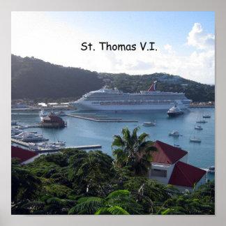 St. Thomas V.I. Harbor Posters