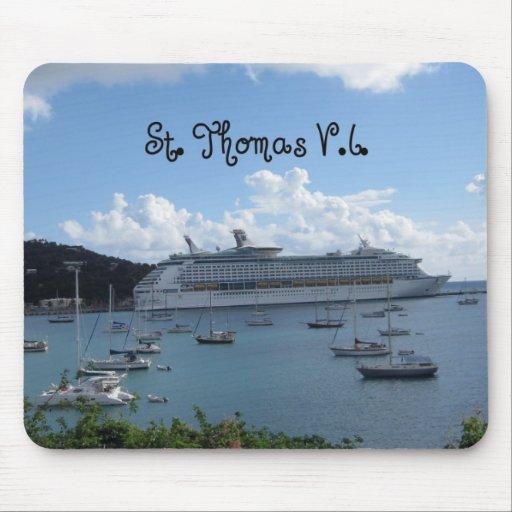 St. Thomas, V.I. Mouse Pad