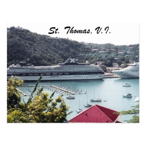 St. Thomas, V.I. Postcard
