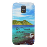 St. Thomas view from Coral World Galaxy S5 Cover