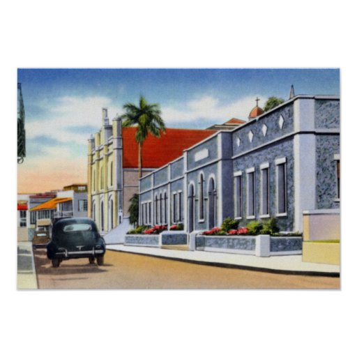 St Thomas Virgin Islands Sts Peter and Paul Cathol Posters