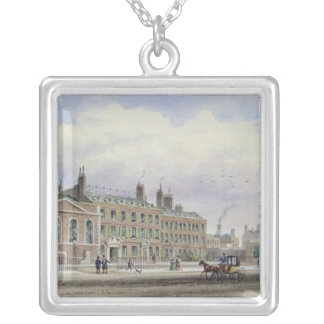 St. Thomas's Church, Southwark, London Silver Plated Necklace