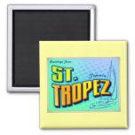 ST. TROPEZ 2 INCH SQUARE MAGNET