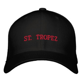 ST. TROPEZ EMBROIDERED HAT