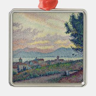 St. Tropez, Pinewood, 1896 Metal Ornament