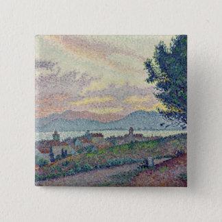 St. Tropez, Pinewood, 1896 Pinback Button