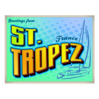 ST. TROPEZ POSTCARD