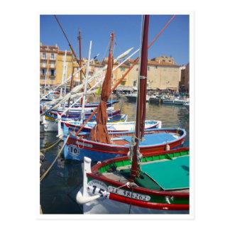 st tropez sails post cards
