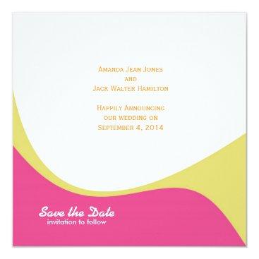 Beach Themed St. Tropez Save the Date: Summer Lovin' Card