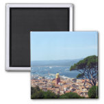 st tropez view 2 inch square magnet