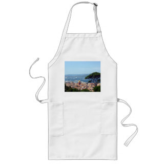 st tropez view long apron