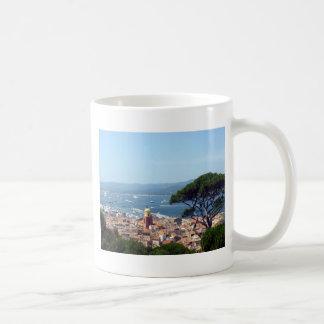 st tropez view classic white coffee mug