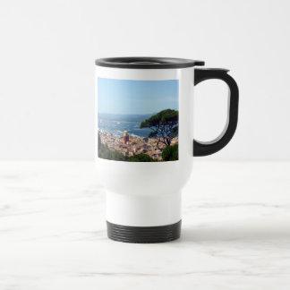 st tropez view 15 oz stainless steel travel mug