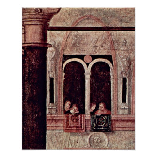 St. Tryphon, free of Phrygia by Vittore Carpaccio Poster