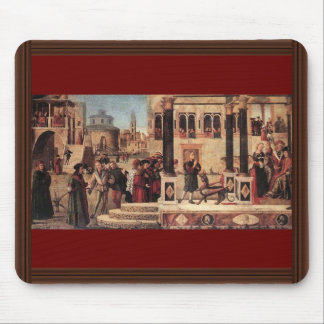 St. Tryphon Of Phrygia Freed The Daughter Of Emper Mousepads
