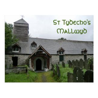 St Tydecho's Church, Mallwyd, Gwynedd Postcard