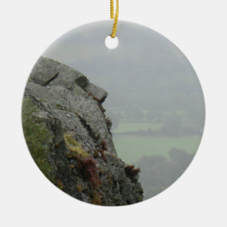 St Tydecho's Head Overlooking the Dyfi Valley Ceramic Ornament