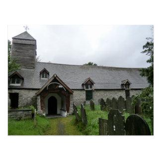 St Tydecho's Mallwyd Church in Gwynedd Postcard