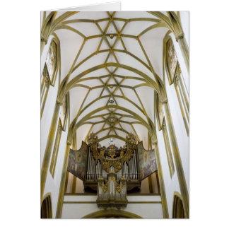 St Ulrica y St Afra, Augsburg Tarjeta De Felicitación