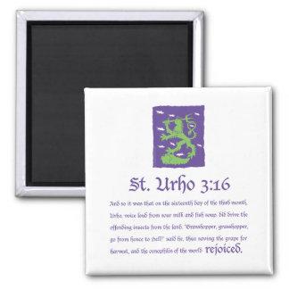 St. Urho 3:16 - Magnet