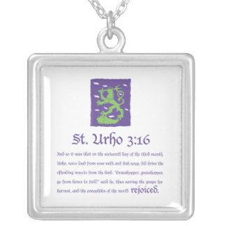 St. Urho 3:16 Pendant