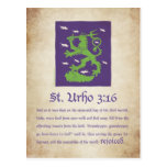 St. Urho 3:16 - Postcard