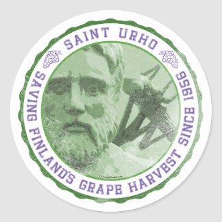St. Urho Seal - Stickers