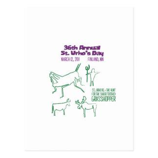 St. Urho's 2011 Theme Postcard