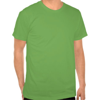 St. Urho's Day Green with Purple Text T-Shirt
