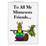 St. Urho's Day Greeting Card for Friends