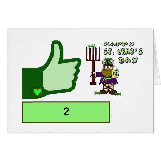 St. Urho's Day Popularity Card  Customize It!