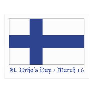 St. Urho's Day Postcard