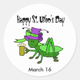 St. Urho's Day Stickers