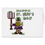 St. Urho's Day - Ver. 5  Note Card