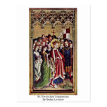 St. Ursula And Companions By Stefan Lochner Post Cards